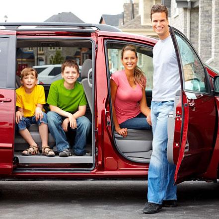 Семейный автомобиль на 5 человек