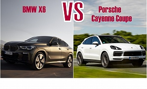 BMW X6 VS PORSCHE CAYENNE COUPE