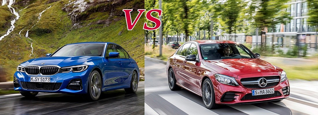 BMW 3 СЕРИИ VS MERCEDES-BENZ C-КЛАСС