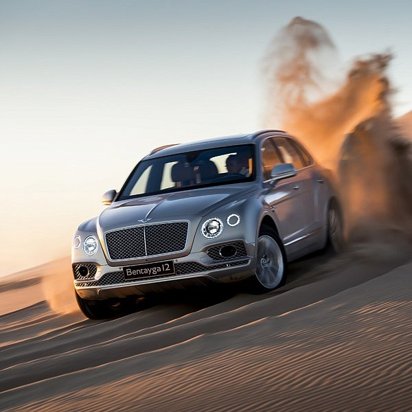 Bentley Bentayga: Иноходец